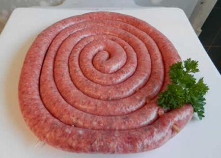 Cartwheel Sausage